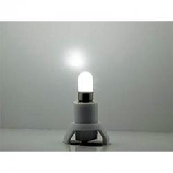 Podstavec s LED žárovkou -bílá-