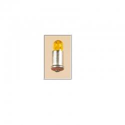 Bajonetová žárovička - žlutá 16V