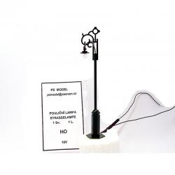 H0 pouliční lampa 1světelná