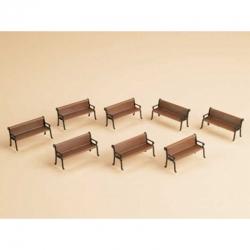 TT - lavičky 8 kusů