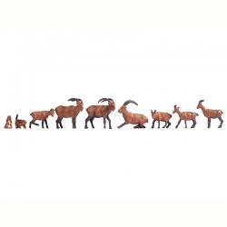 H0 Alpská zvířata