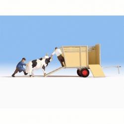 H0 přeprava zvířat