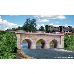 N kamenný viadukt jednokolejný