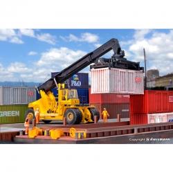 H0 Kalmar -nakladač kontejnerů s kombinovaným agregátem-