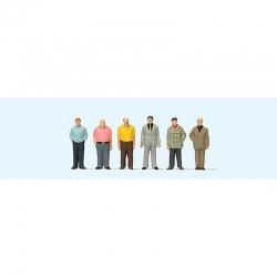 TT stojící muži 6 figurek