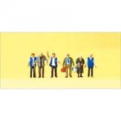 TT figurky Preiser -domov seniorů-