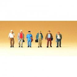 TT - pracující 6 figurek