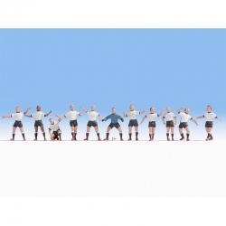 TT  fotbalový tým 11 figurek