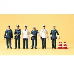 H0 policisté BRD 6 figurek