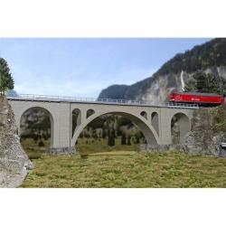 H0 jednokolejný viadukt