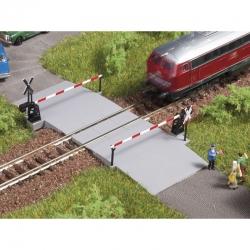 N  chráněný železniční přejezd