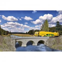 H0 most kamenný obloukový -jednokolejný-
