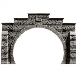TT tunelový portál -dvoukolejný-