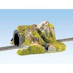 H0 tunel přímý jednokolejný