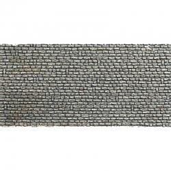 H0 papírová dekorační deska s plastickým motivem -přírodní kámen-