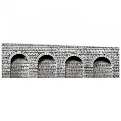 H0 arkády -přírodní kámen kvádrů-