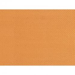 Deska z umělé hmoty- cihlová zeď