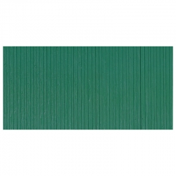 Deska z umělé hmoty- dřevěná stěna zelená