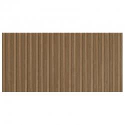 Deska z umělé hmoty- dřevěná stěna