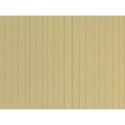 Deska z umělé hmoty- stěna z přírodního dřeva