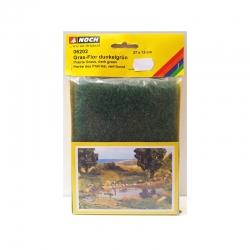 Koberec -vlasy - tmavě zelený-