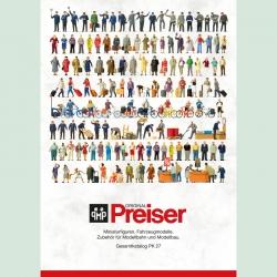 Katalog Preiser PK 27 -v němčině