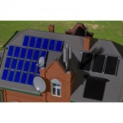 H0 solární panely na dům