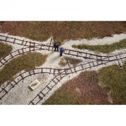 H0 kolejnice polní dráhy - atrapa