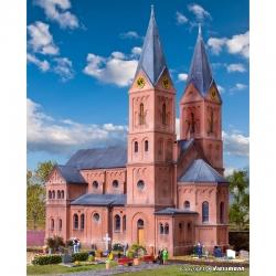 H0 Románský městský kostel - Jakobwüllesheim-