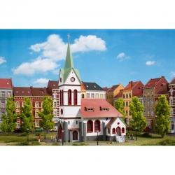 H0 městský kostel