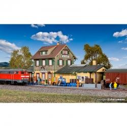H0 - nádraží -Dettingen-