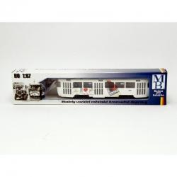 """Model tramvaje ČKD Tatra T3SUCS s reklamou """"Campari"""""""