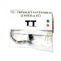 TT trpasličí návěstidlo -2 světla ZČ-