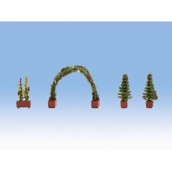 H0 různé stromky