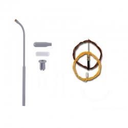 N lampa -pouliční- LED bílá 54 mm stavebnice