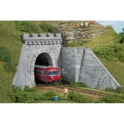 H0  tunelový portál -jednokolejný-