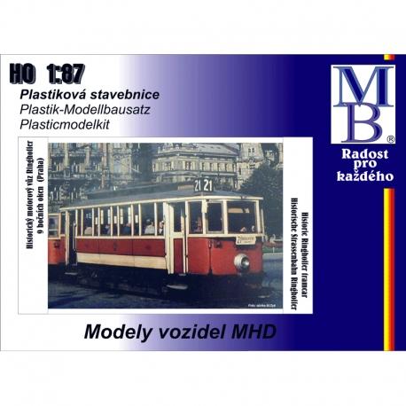 H0   tramvaj -Ringhoffer- DP Praha