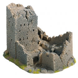 H0,TT zřícenina hradu
