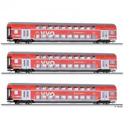 TT set osobních patrových vozů -VVO- DB AG ep.VI