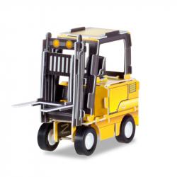 3D puzzle -vysokozdvižný vozík na setrvačník-
