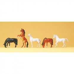 H0 koně 5 koňů
