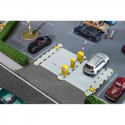 H0 automatická parkovací závora
