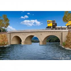 H0 kamenný most obloukový jednokolejný