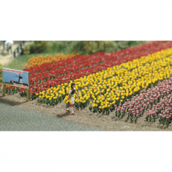 H0 tulipány -stavebnice-