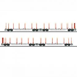 H0 set kontejnerových vozů AAE Cargo AG ep.VI