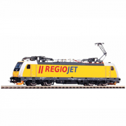 H0 elektrická lokomotiva řady 186 -Regiojet- CZ ep.VI