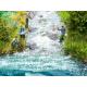 Modelová voda -pěna a zpěněné vlny-
