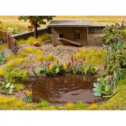 H0 Leser Cut -vodní a pobřežní rostliny-