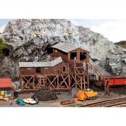 N starý uhelný důl