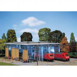 H0 výtopna pro elektrické lokomotivy 3 stání